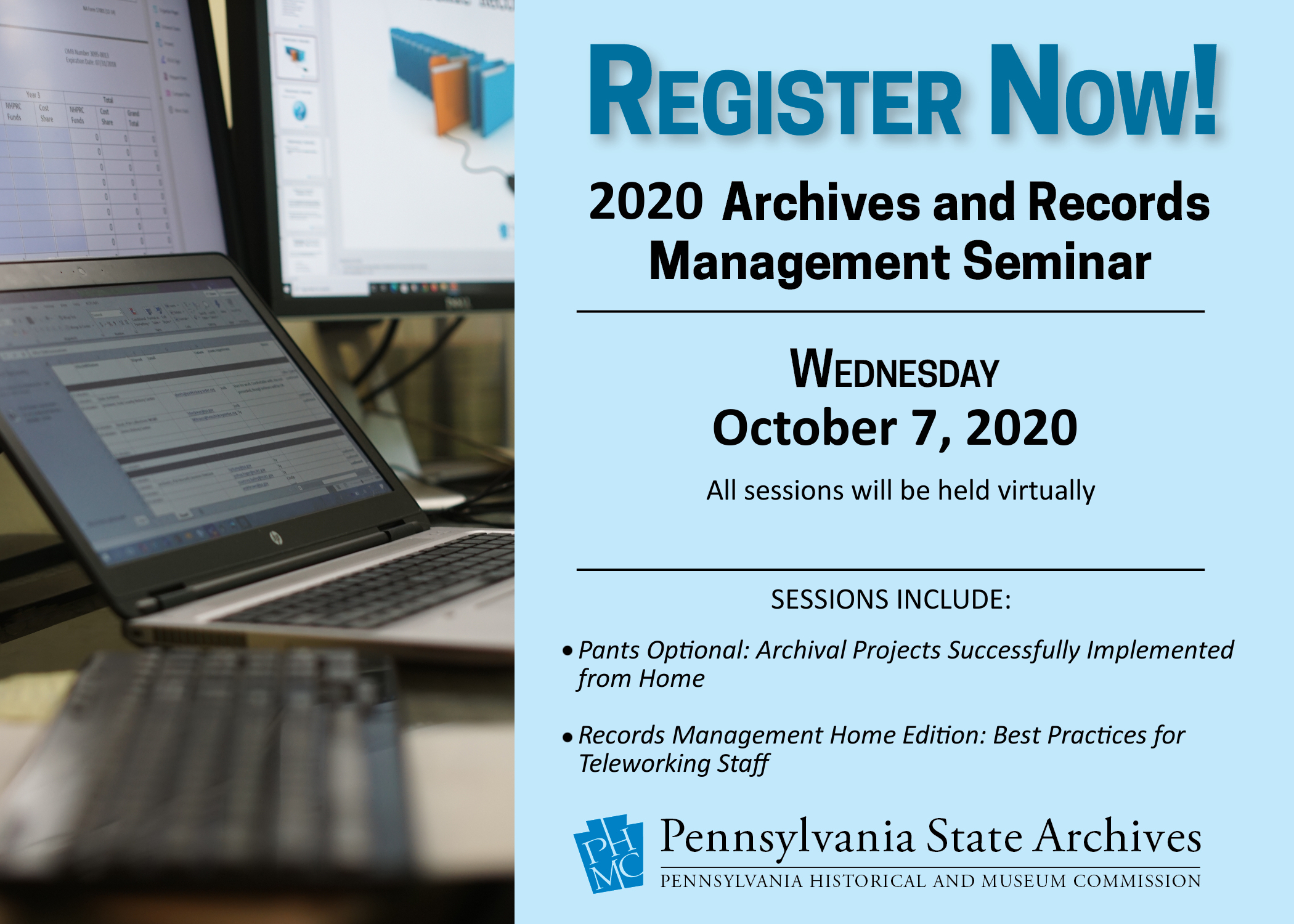 2020 Arhives and Records Management Seminar