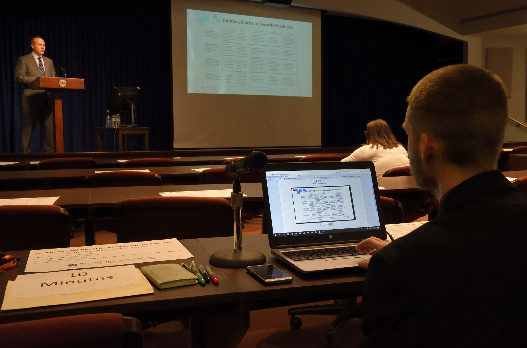 Archives and Records Management Seminar.JPG