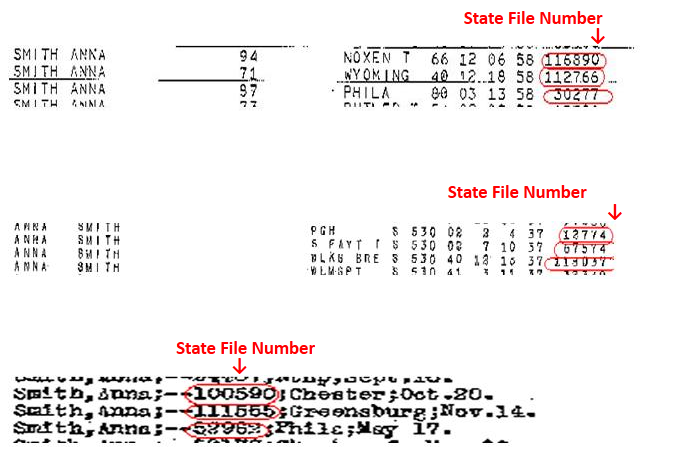 State File Number